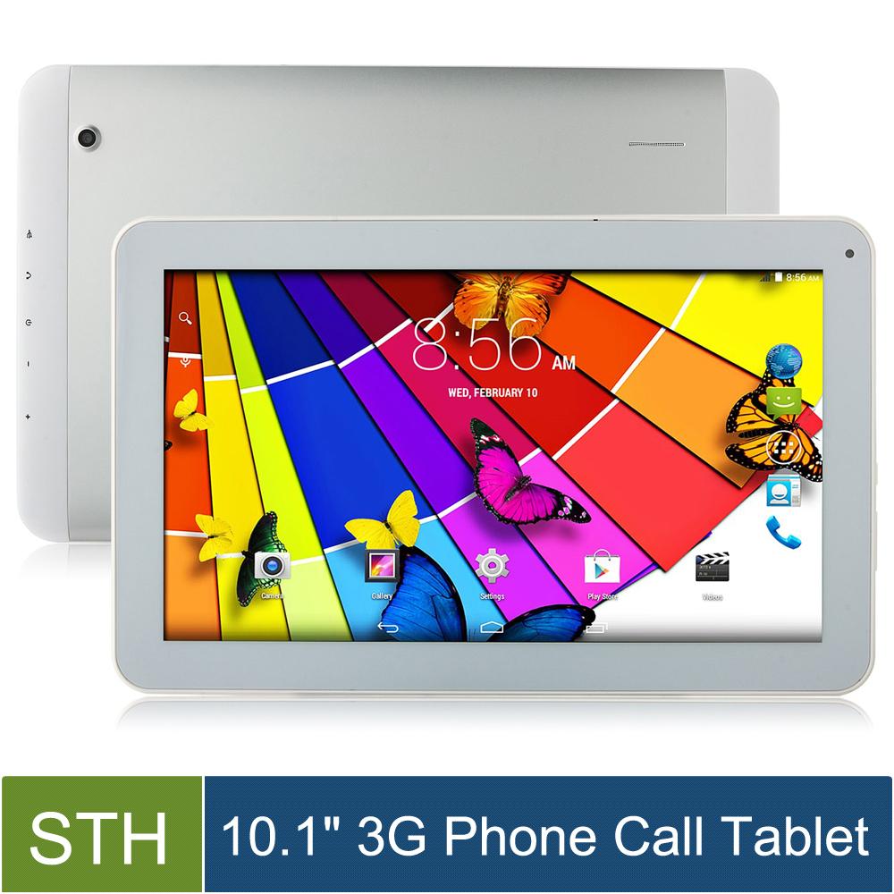 10.1 inch 3G Phone Call Tablet Pcs Android 4.4.2 MTK8382 Quad core 1GB/8GB 1024x600 3000mAh Dual Cameras Wifi FM Radio Bluetooth(China (Mainland))