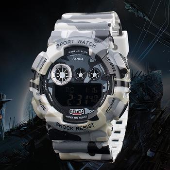 2015 новый мужская альпинизм водонепроницаемые часы relógio militar