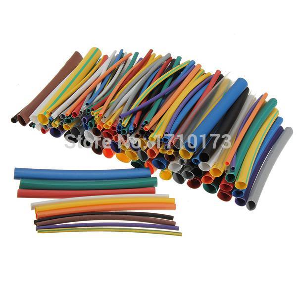 New Arrival!!!Professional Ultimate Heat Shrink Tubing 144 pc 12 Colors Kit HeatShrink Tube Sleeve Sleeving Hot Sale(China (Mainland))