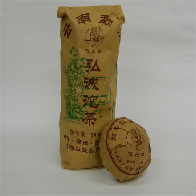 Вязаный чай 100 pu erh Tuo [grandness] menghai v93 2007 701 yunnan menghai tea factory dayi taetea premium ripe puer pu er pu erh pu erh tuo cha tea 250g
