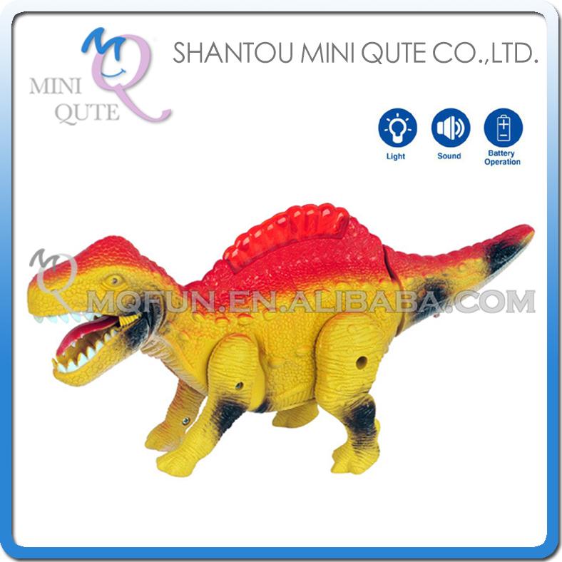 Mini Qute 29 cm plastic Godzilla Jurassic Park robot sound flash walk electronic dragon Dinosaur Iguanodon model toy NO.3806(China (Mainland))