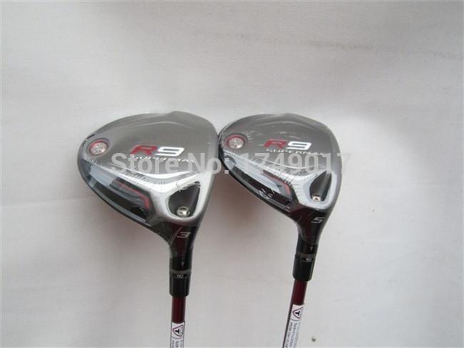 R9 Supermax Fairway Wood R9 Supermax Fairways Golf Clubs #3/#5 Regular/Stiff Graphite Shaft With Head Cover EMS FREE SHIPPING(China (Mainland))