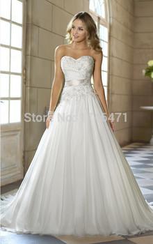 Свадебные платья Novia алина милая аппликация шифон свадебные платья одеяние де свадебная свадебное платье Casamento