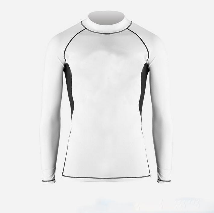2015 Spring New men tight shirts men latest fashion shirts fast drying male shirts hit color Korean style(China (Mainland))