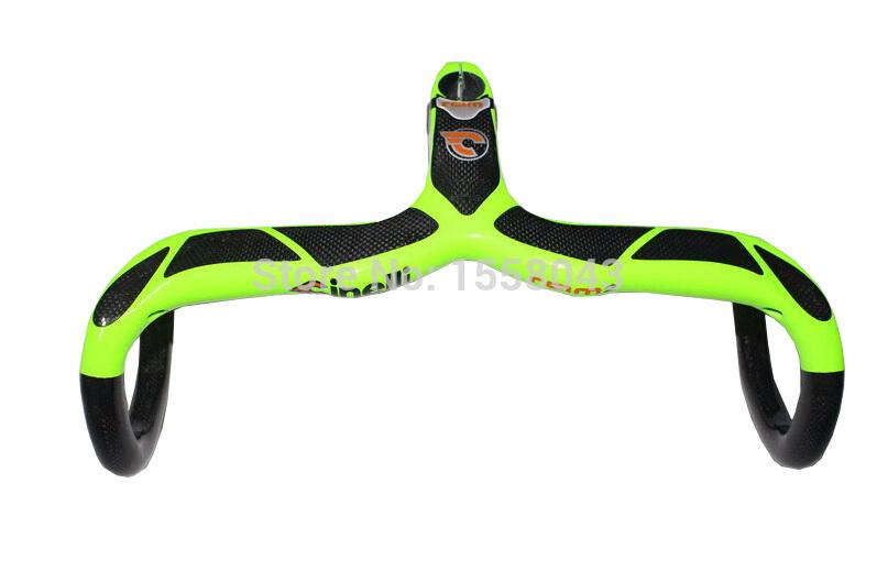 HOT Road bike bicycle handlebar carbon fiber bicycle handlebar stem carbon fiber bike accessories carbon handlebar