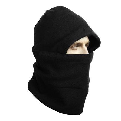 Outdoor Tactical Fleece Hat Balaclava Neckwear Multifunction 4 in 1 Hood Winter Thermal Face Mask Collar Motorcycle Ride Gator(China (Mainland))