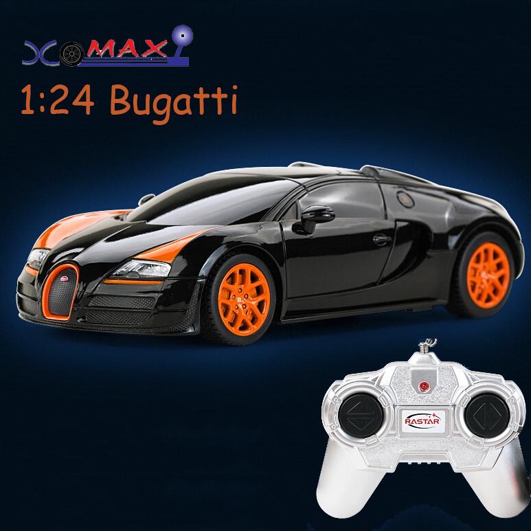 rc car toy remote control car drift car scale models radio controlled toys Rastar 47000 1/24 Bugatti Veyron RC Car(China (Mainland))