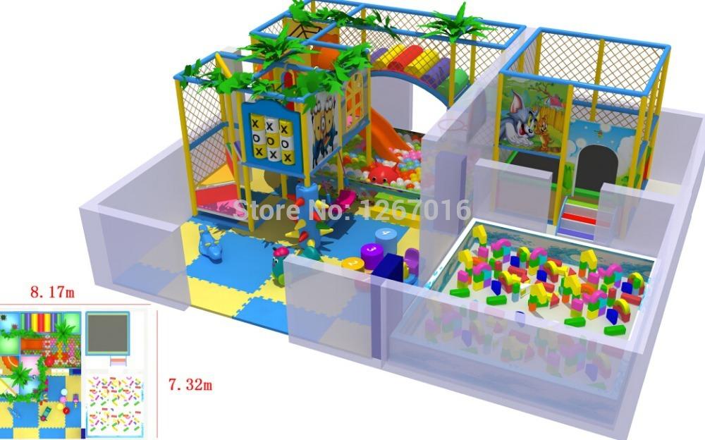 2014 Golden Factory Indoor Playground Equipment/Indoor Soft Pleasure Toy/Indoor Combined Games One-stop Service Top Quality(China (Mainland))