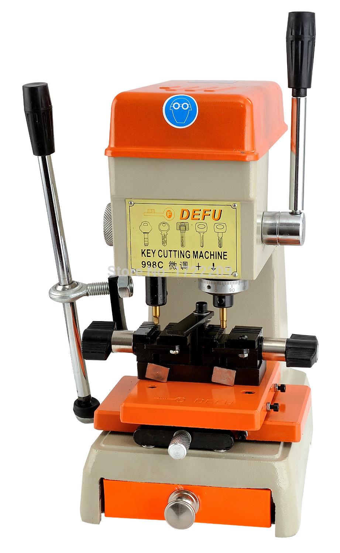 Best sale Defu 998C locksmith supplies key cutting machine key duplicator(China (Mainland))