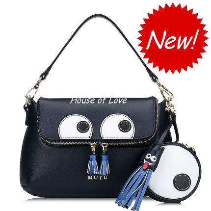Original fashion handbags shoulder bag 2015 new spring tide cartoon mini bag Messenger packet packet Picture Pack(China (Mainland))