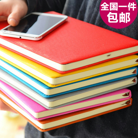 Commercial binder thick diary notepad korea stationery notebook supplies(China (Mainland))