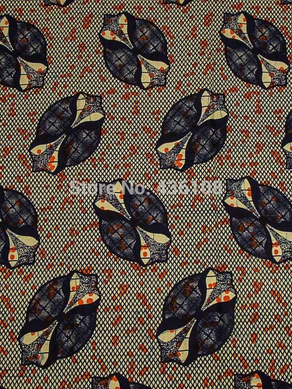 African Ankara Material Real Wax Shells Beige Cloth Online Supplier rw493304(China (Mainland))
