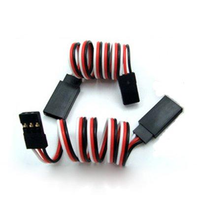10pcs 300mm 30cm rc servo extension lead wire JR plug(China (Mainland))