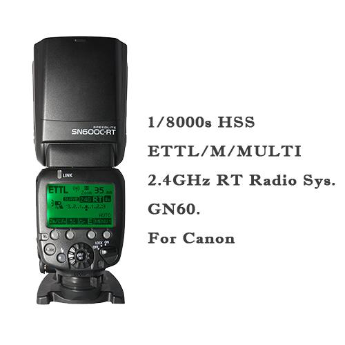Вспышка для фотокамеры SHANNY sn600c/RT 2.4g Speedlite HSS 1/8000s GN60 TTL Canon RT SN600C-RT shanny sn e3 rts transmitter flash trigger for canon 600ex rt yongnuo yn600ex rt sn600c rt flash speedlite as st e3 rt yn e3 rt