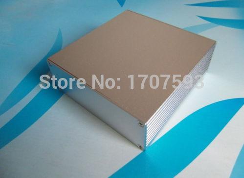 Full Aluminum Audio DIY tube amplifier Enclosure Power Amplifier Chassis box(China (Mainland))
