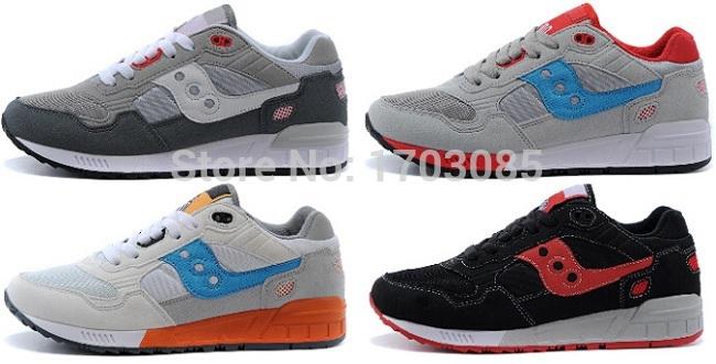 2015 Cheap Sale unisex saUcONYS shadow 5000 grey for womens running shoes retro original mens sport shoes blue donna scarpe(China (Mainland))