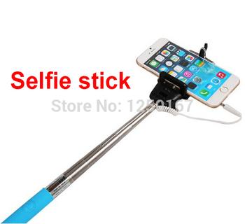 Monopod selfi mobile phone holder selfie stick to self camera stand