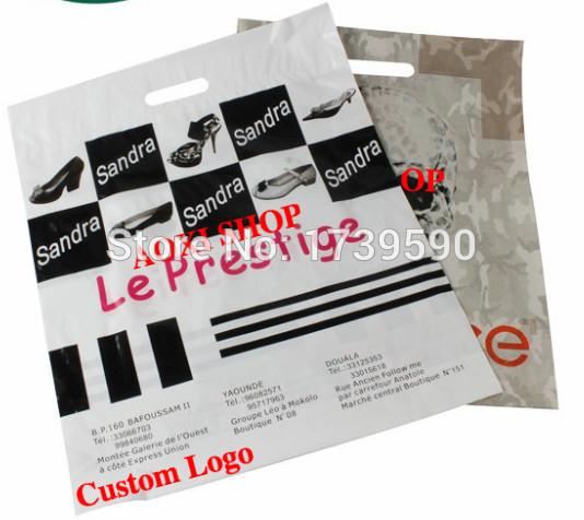 Customized Logo plastics bag plastic promotional tote bag shopping bag plastic packaging bag manufacturer(China (Mainland))