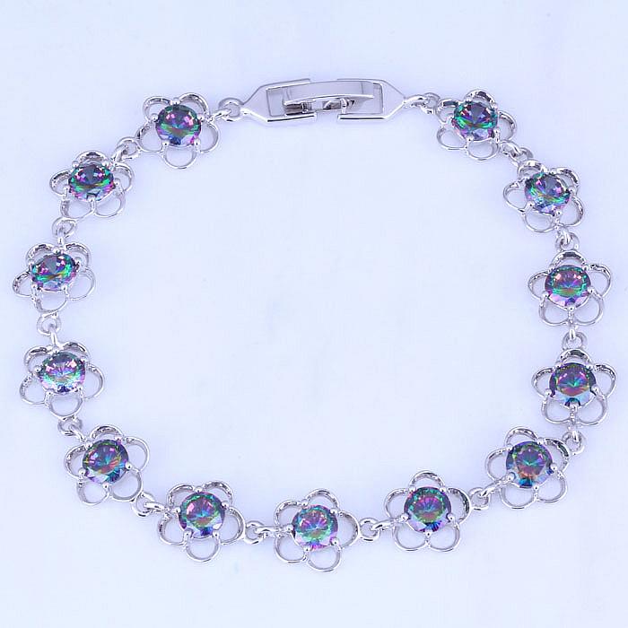 Браслет-цепь Layla Jewelry 18,5 B0044 браслет цепь magic jewelry 925 oem