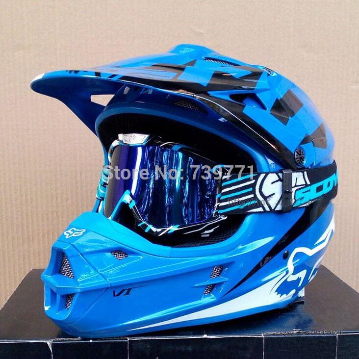 Top Grade FOX Motocross Helmets Professional Motor Cross Helmet DOT Approved Motorcycle Capacete Casco(China (Mainland))