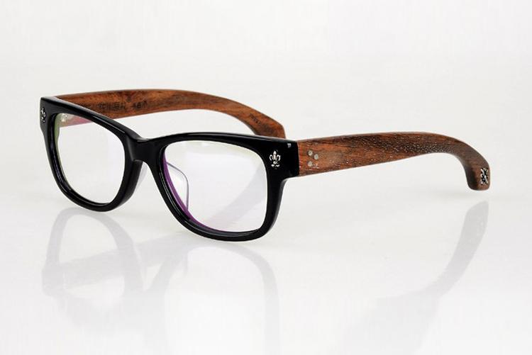 PERRY Wood Reading Glasses Women Brand Design Men Eyeglasses Frame Oculos De Grau Femininos Glasses Bamboo Goggles P-7075(China (Mainland))