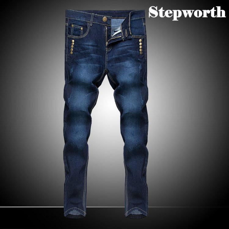 цена Мужские джинсы China Brand 2015 M0188 Men Jeans онлайн в 2017 году