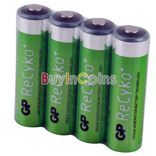 Аккумуляторная батарея OEM 4 power GP Recyko 2050mAh 1.2V ni/mh NIMH PYTL #1 PYTL #22537 Ni-MH NIMH Rechargeable AA Battery аккумуляторная батарейка аа gp smart energy 100aahcsv aa nimh 1000mah 2шт gp 100aahcsv 2cr2