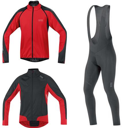 2014 gores fleece winter sportswear long sleeve jersey Ciclismo, sports wear cycling , mountain bike man cycling jacket(China (Mainland))