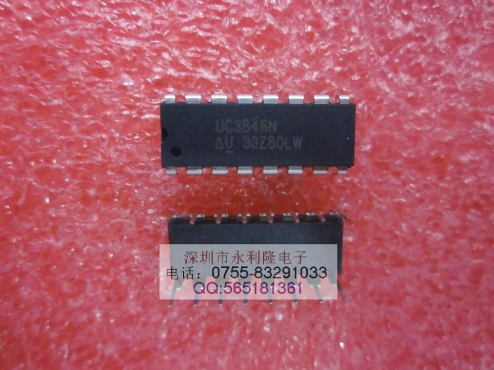 Электроника UC3846 TI DIP - 14