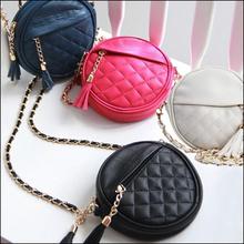 VN 2015 Women handbag fashion women messenger bags vintage shoulder bags mini tassel chain bag pu leather handbags clutch purse (China (Mainland))