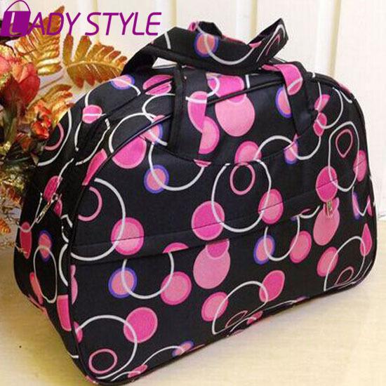2015 New Women Handbag Travel Bag Fashion Waterproof Oxford Women Colorful Travel Bag Large Hand Canvas Luggage Bags HL6422(China (Mainland))