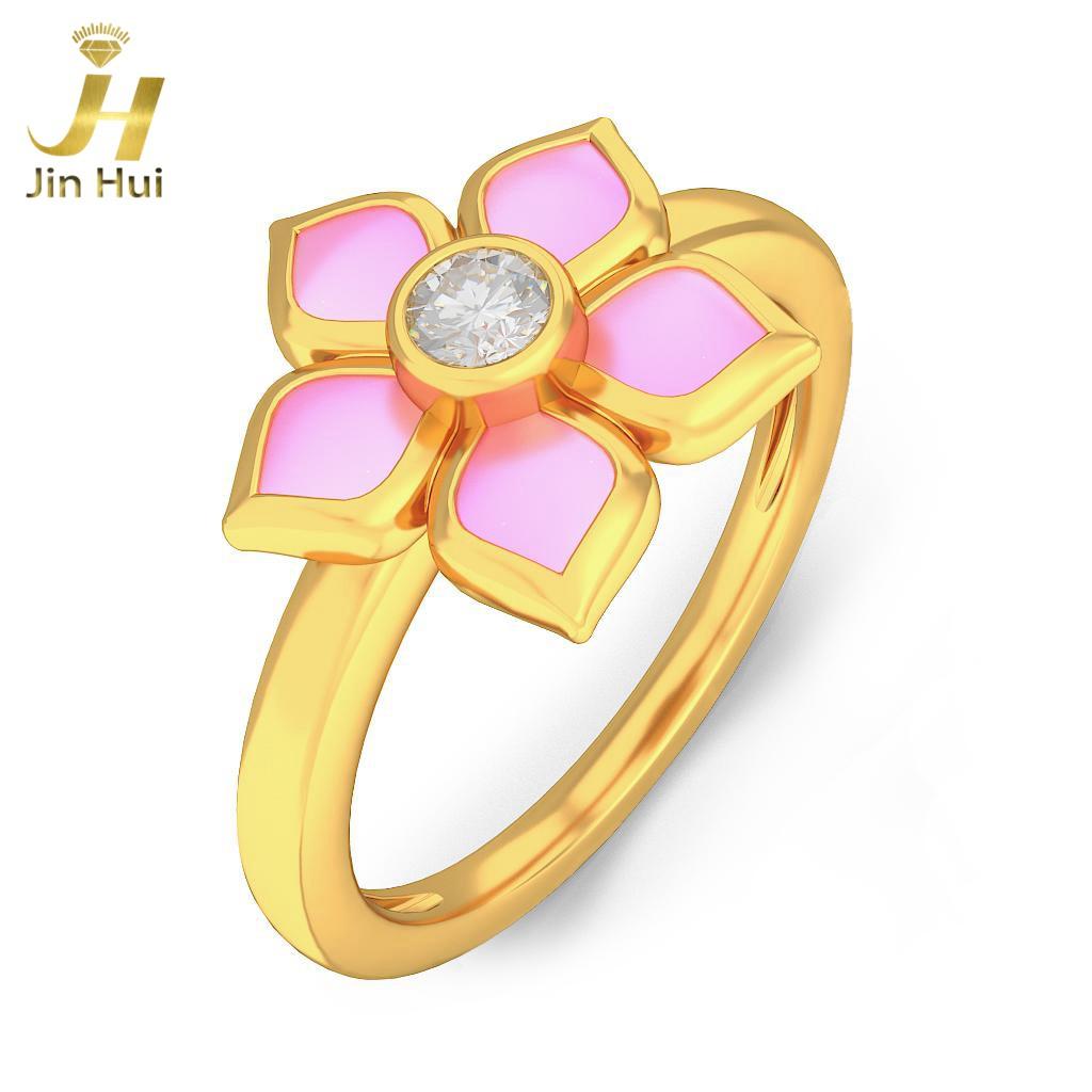 Jin Hui Jinhui 18K 750 0,076 CT JH-BS5093 jinhui dhwani 18k 750 0 08 jh bs4576