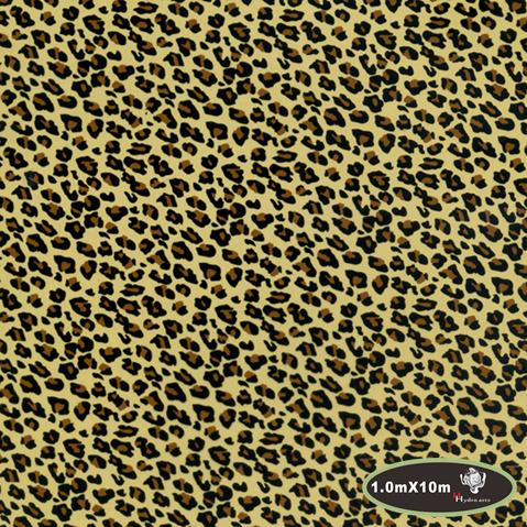 Hot leopard print pattern water hydro transfer printing film hydrographic printing film,aqua print film 1m*10m HTMA437-1(China (Mainland))