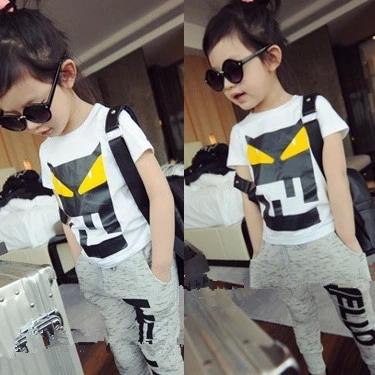 Fashion Baby Girls Boys T-shirts cotton Cartoon superman children Pattern Tops Tees Kids Clothes summer short sleeve  t shirts(China (Mainland))