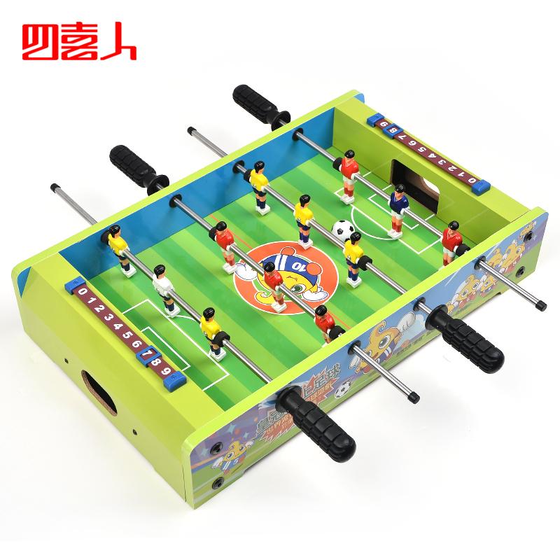 Table football machine children desktop Large parent-child toys infant toy balls free shipping(China (Mainland))