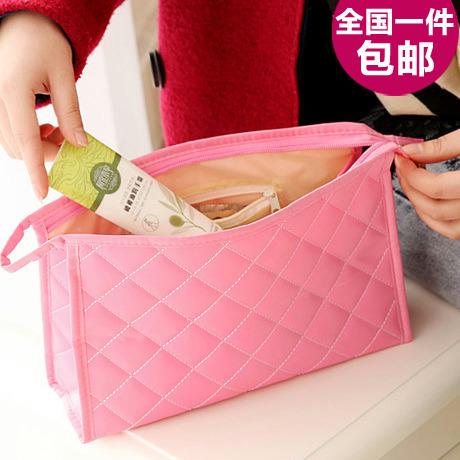 Women's mini cosmetic bag waterproof cosmetic storage bag cosmetic bag dressing bag(China (Mainland))