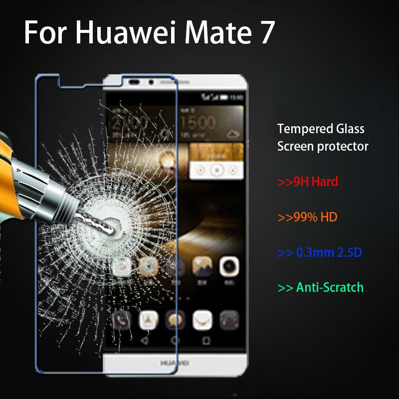купить Защитная пленка для мобильных телефонов Huawei Ascend Mate7 7 6 0,3 2.5d + недорого