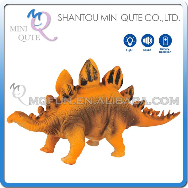 48pcs/lot Mini Qute 49 cm plastic Godzilla Jurassic Park robot pet sound electronic dragon Dinosaur Stegosaurus model toy NO.005(China (Mainland))