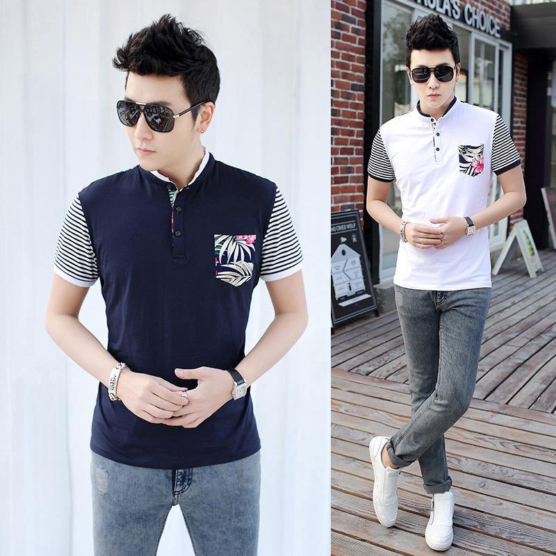 2015 Summer Men's Polo Shirt For Men 100% cotton Polos Men Short Sleeve shirt sports jerseys golf tennis Plus Size 3XL(China (Mainland))