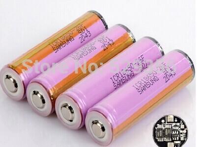 Аккумулятор 2 100% Samsung 3.7V 18650 icr18650/26f 2600mAh внешний аккумулятор samsung eb pn930csrgru 10200mah серый