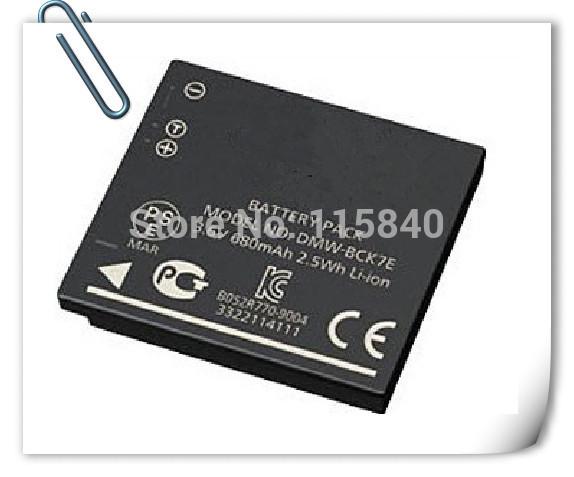 DMW-BCK7E BCK7E BCK7 NCA YN101 YN101J Camera Battery for Panasonic DMC FH2 FH5 FH25 FH27 TS25 S3 FH8 SZ1 FH6 SZ7 FS18 TS20 FP7(China (Mainland))