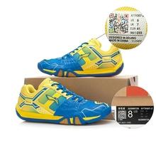 2015 più nuovo fodera scarpe da badminton li ning uomo professionale AYTK007 badminton scarpa sportiva resistente li-ning scarpe sportive  (China (Mainland))