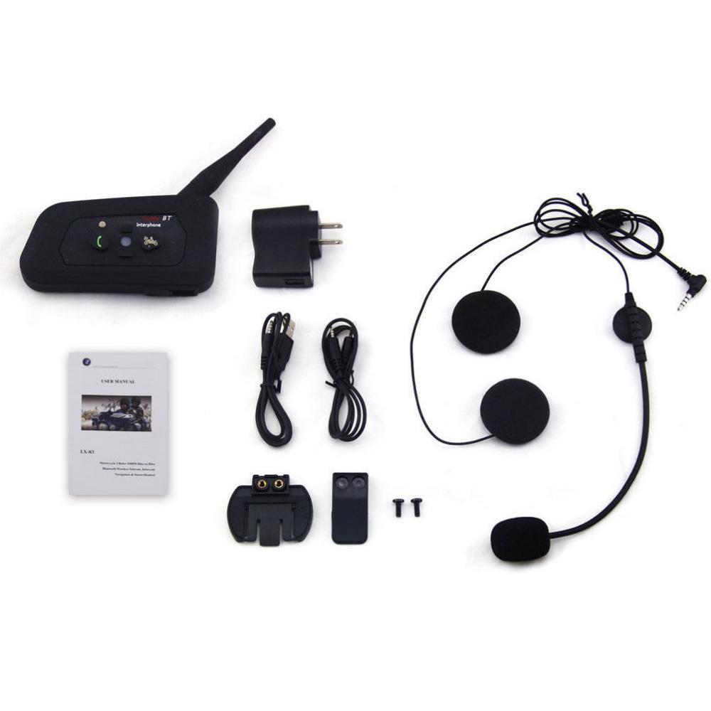 Newest R3 Wired Helmet Intercom 1200M Motorcycle Bluetooth Intercom Headset BT interphone Communicator Capacete for 3 Riders(China (Mainland))