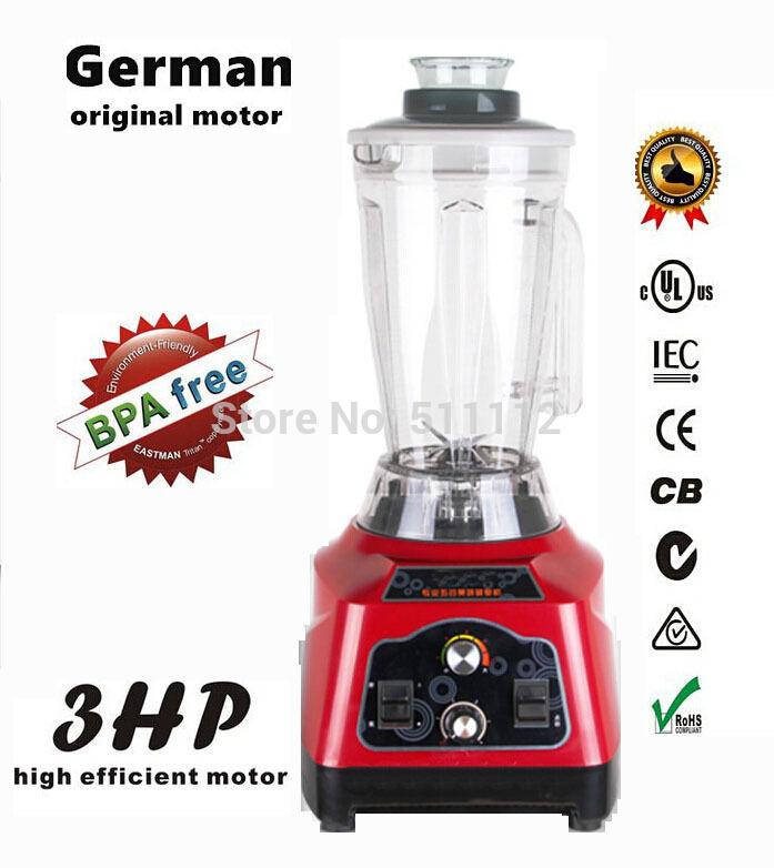 BPA free Blender 3.9L food processor home mini blender 45000RPM 2200W vegetable and fruit stand mixer food processor blender(China (Mainland))