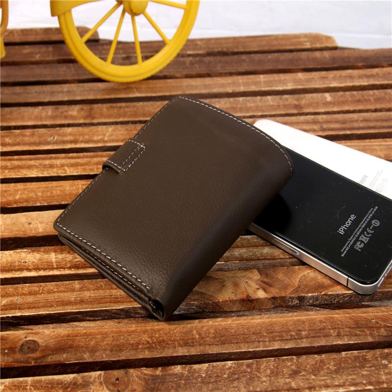 Men Wallets Famous Brand 100 Cowhide Genuine Leather Wallet Men Card Holder With Coin Pocket Short