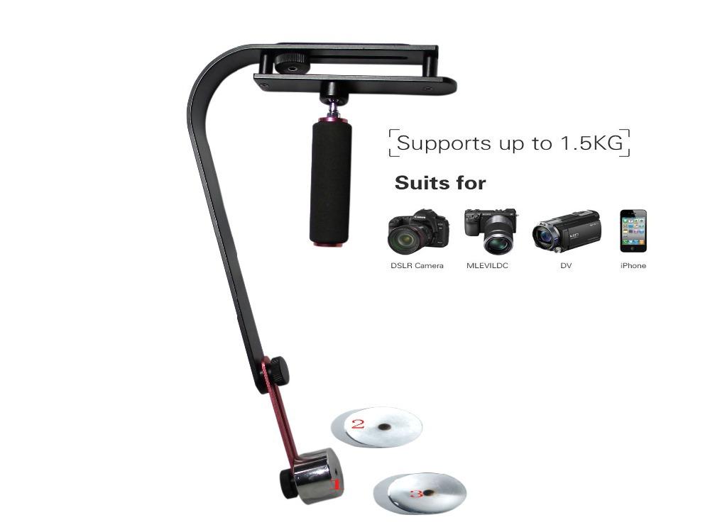 factory price Video Steadicam for Digital Camera HDSLR SLR Camcorder DV handheld stabilizer(China (Mainland))