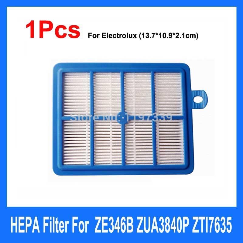 1Pcs HEPA Filter Vacuum Cleaner Parts Replacement For Electrolux Washable H12 EL4100 EL6986A EL4050 ZE346B ZUA3840P ZTI7635(China (Mainland))