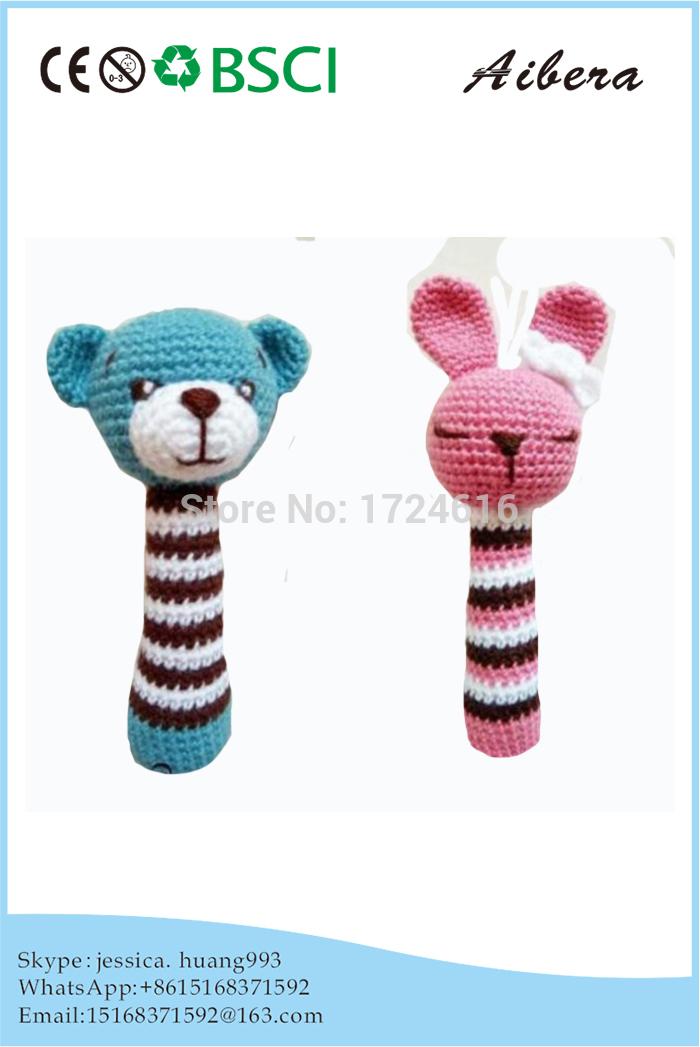 Promotional OEM Crochet compilation Soft cute design Plush Toy(China (Mainland))