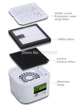 Пункт, Mini очиститель воздуха для для дома, Дети, Астма sickers, Hepa, Активированный уголь фильтр, Анион функция