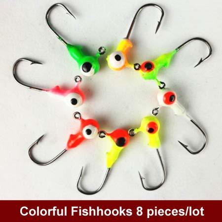 Крючок для рыбалки U-LUCKI 8 /fishhooks Pesca Peche Anzol Pescaria 1G